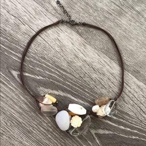 SILPADA N2201 Quartz Pearl Sterling Necklace